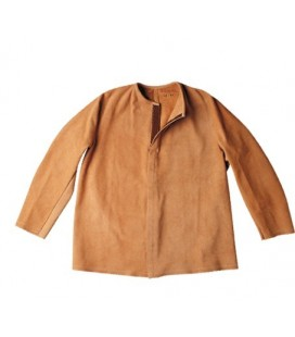 Chaqueta Soldador Mod. 450 Serraje color natural.
