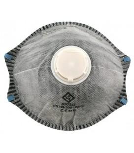 Mascarilla filtrante Mod. DS7322 FFP2 con válvula carbón activo.