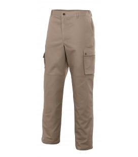 Pantalón multibolsillos con refuerzos de tejidos Mod. NÍQUEL