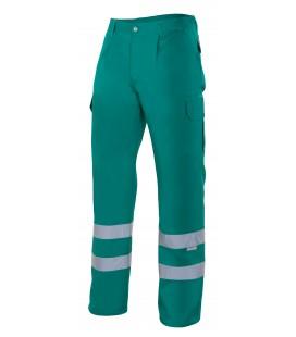 Pantalón multibolsillos con cintas reflectantes Mod. 159