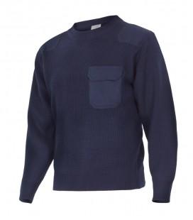Jersey de punto Mod. 100 Cuello redondo.