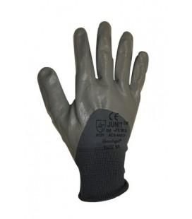 Guante Mod. AC5-440GY Nylon® con recubrimiento nitrilo estanco.