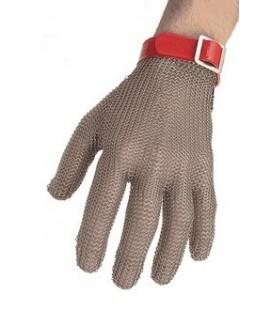 Guante Mod. OGCM. Malla metálica 5 dedos, reversible.
