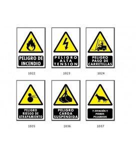 Señales de Advertencia de Peligros.