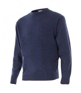 Jersey Punto fino Mod. 105 Acabado con cuello redondo.