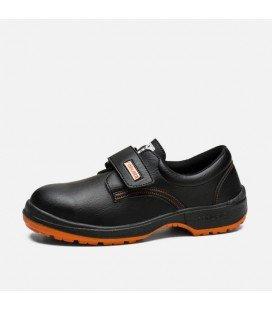 Zapato Seguridad Mod. CASTAÑO VELCRO S2 Puntera y plantilla de Acero